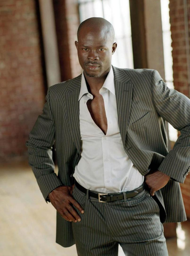 djimon hounsou height