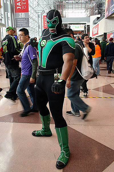 Green Lantern Halloween Costume