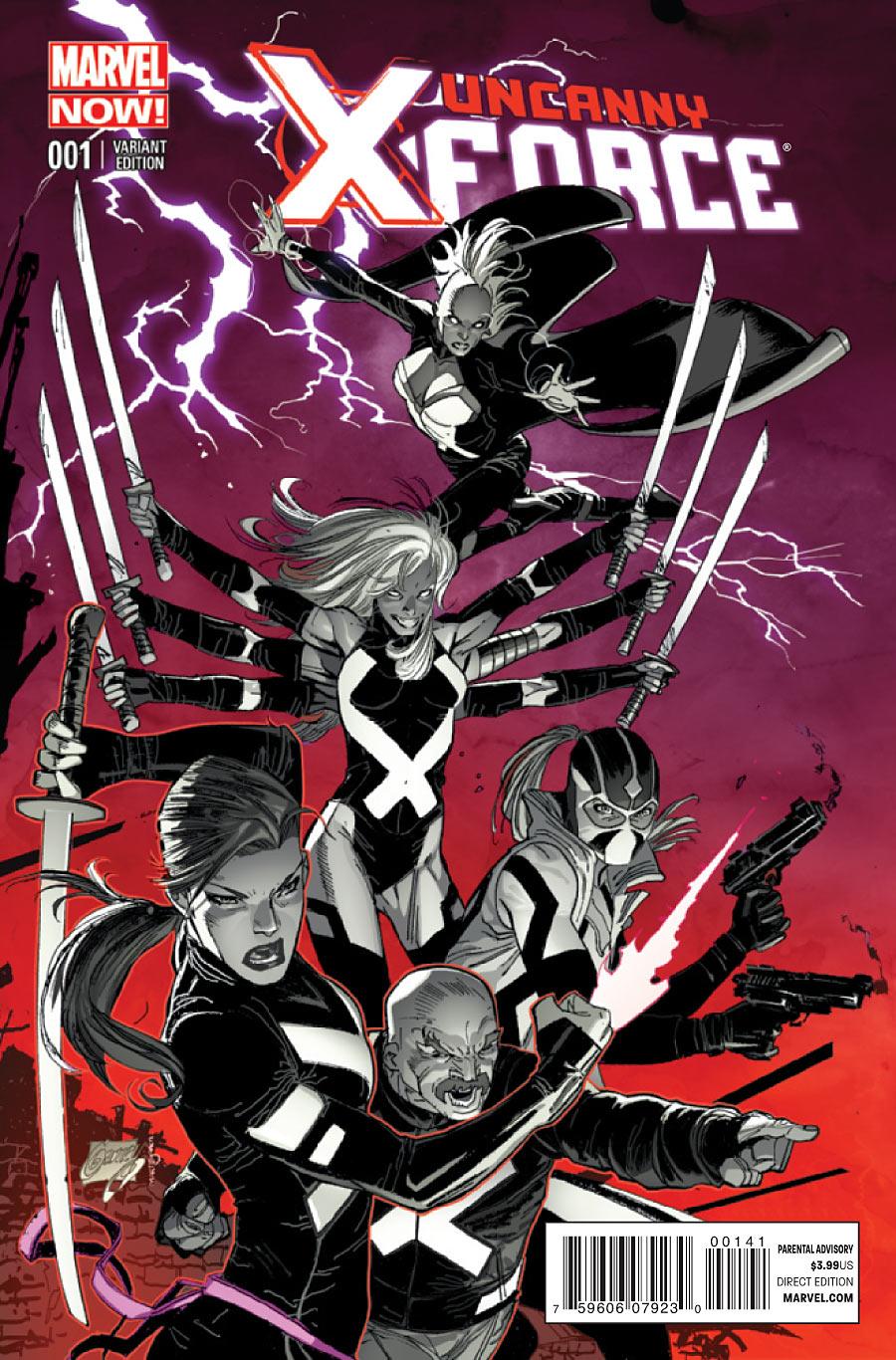 Uncanny X-Force #1. March 2013.