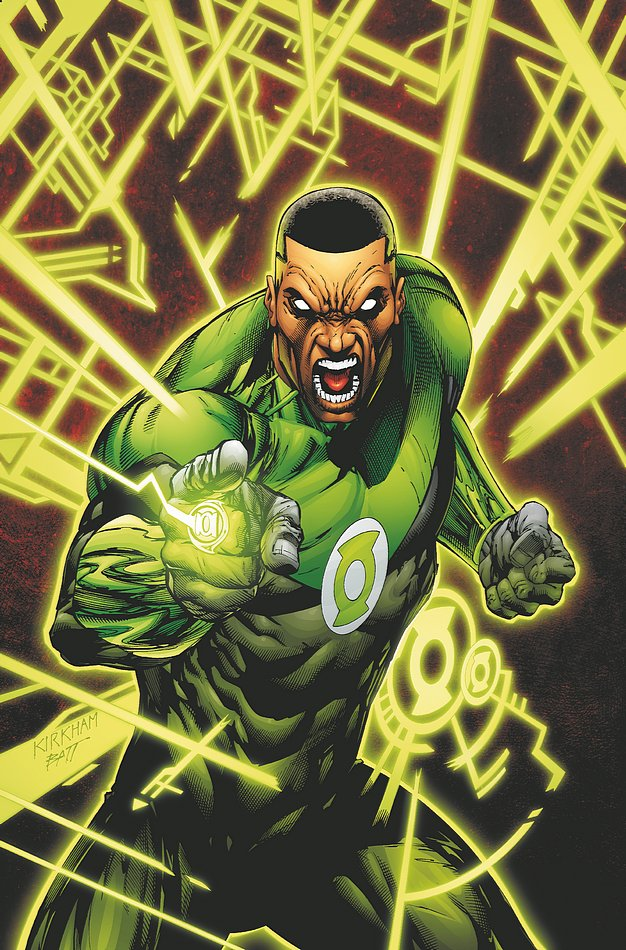 Green Lantern Ring Being Assigned