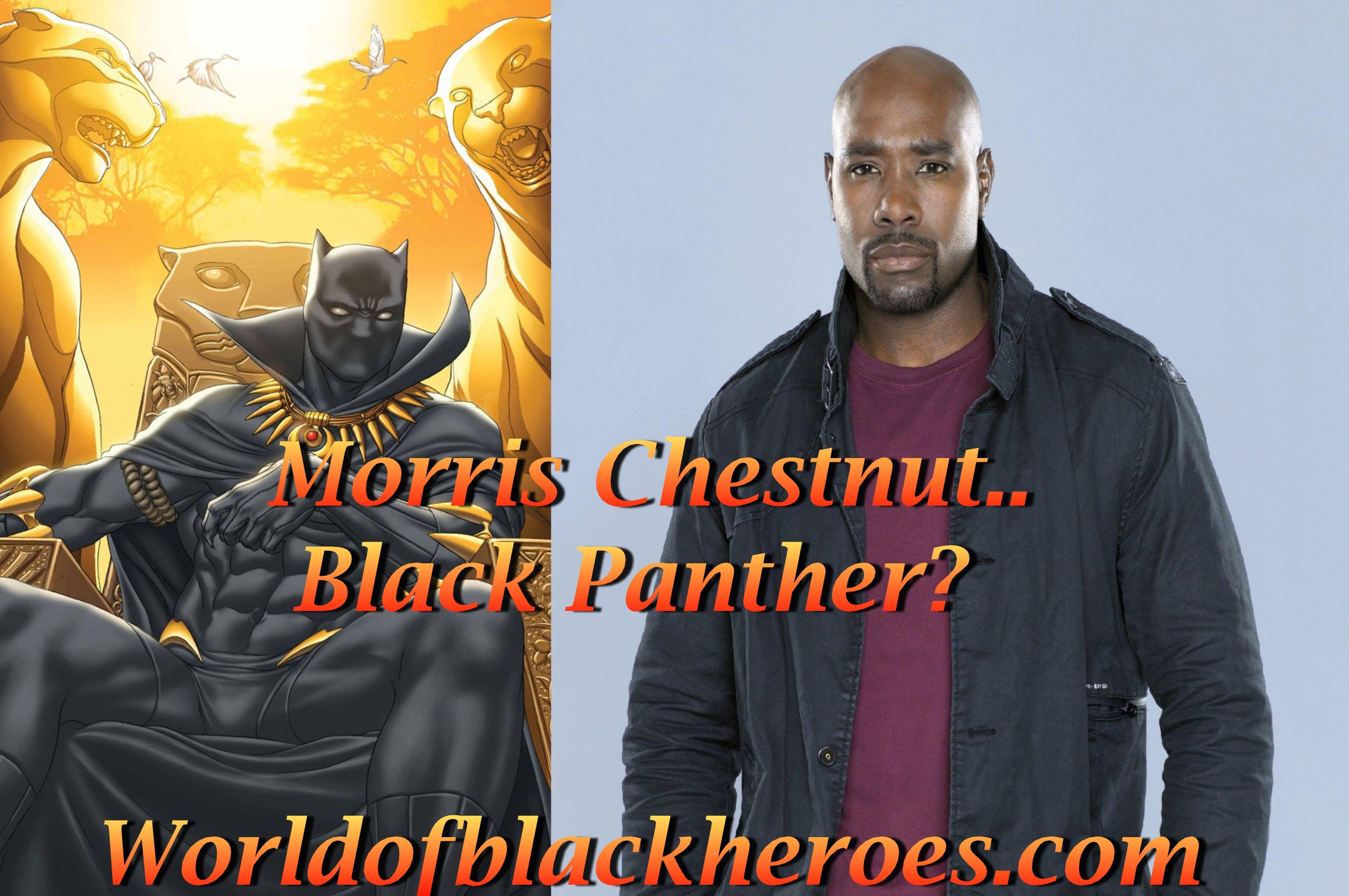 morris chestnut black panther