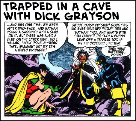 trapped with dick