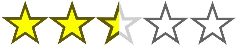 stars- 2.5