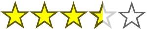 stars- 3.5