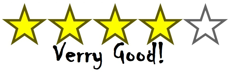 stars- 4 very good