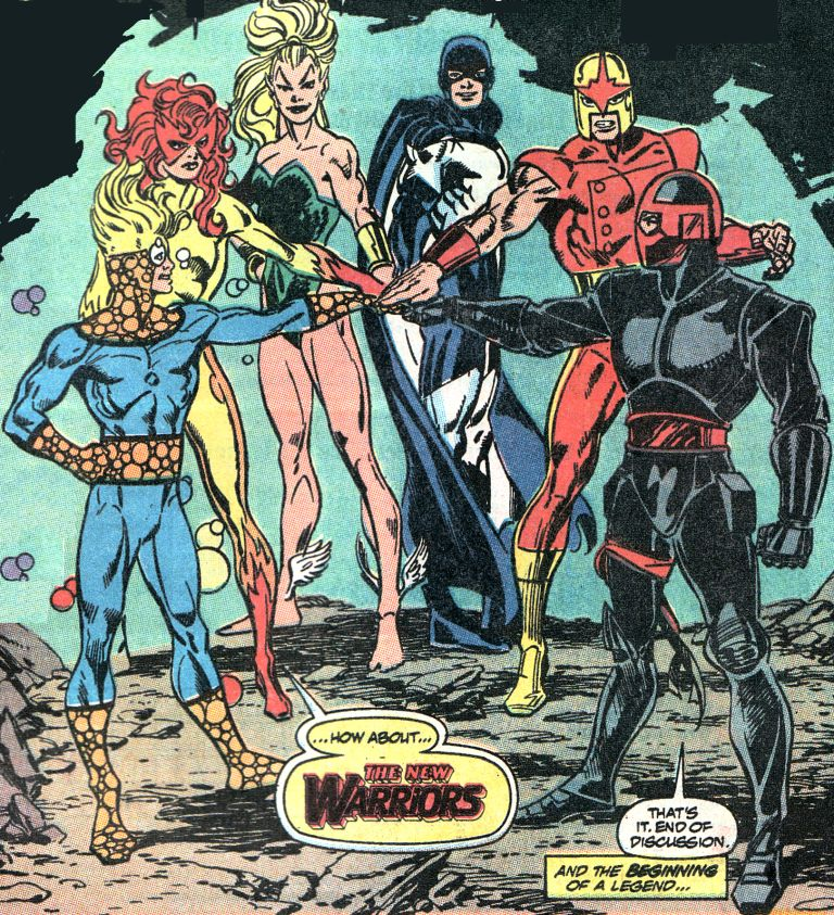 Night Thrasher and the New Warriors