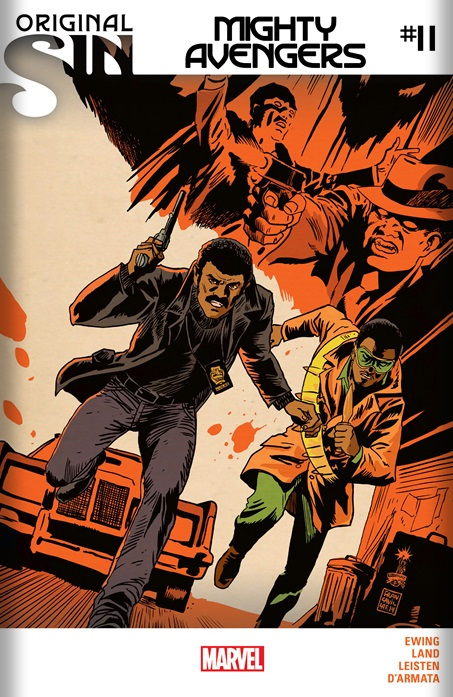 Mighty Avengers #11 cover