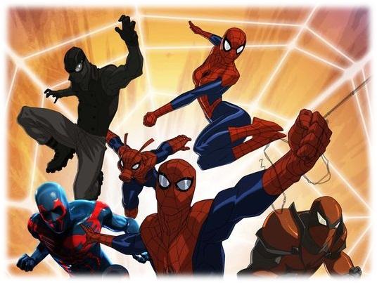 Ultime Spider-man Web Warriors 1