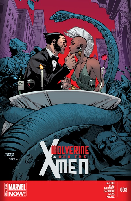 Relationship wolverine storm Storm and