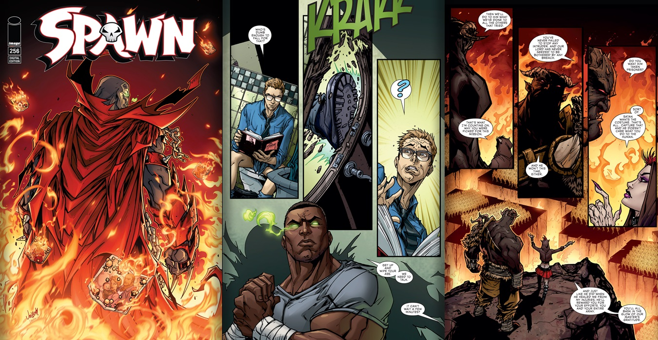 Spawn #256 Review
