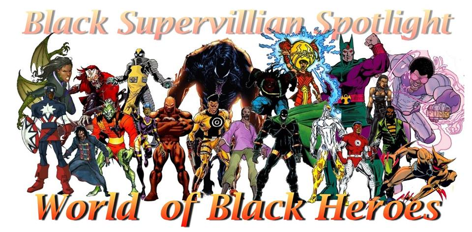black supervillains