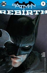 Batman Rebirth #1 cover