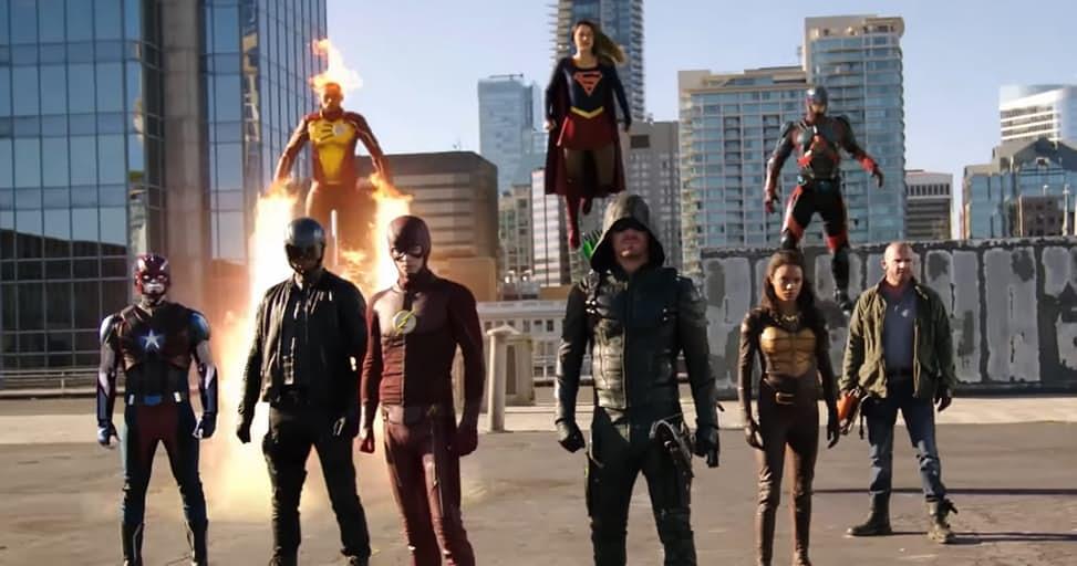 CW's Four-Show DC Crossover Trailer!