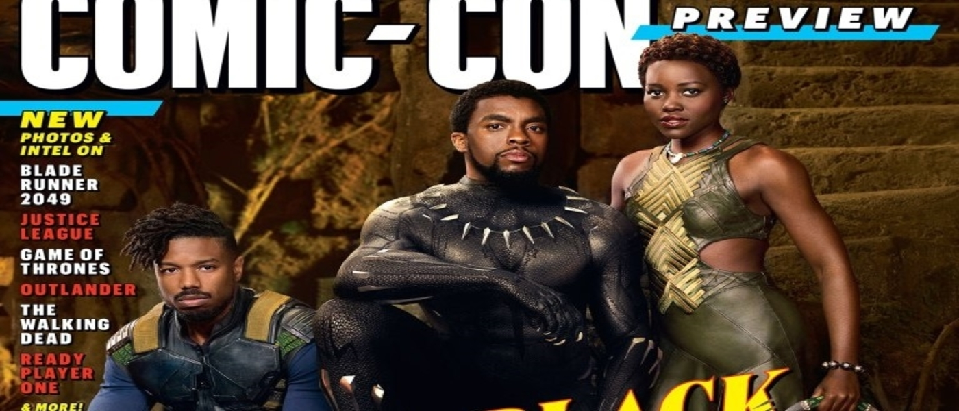 Entertainment Weekly offers first look at the Black Panther Movie!