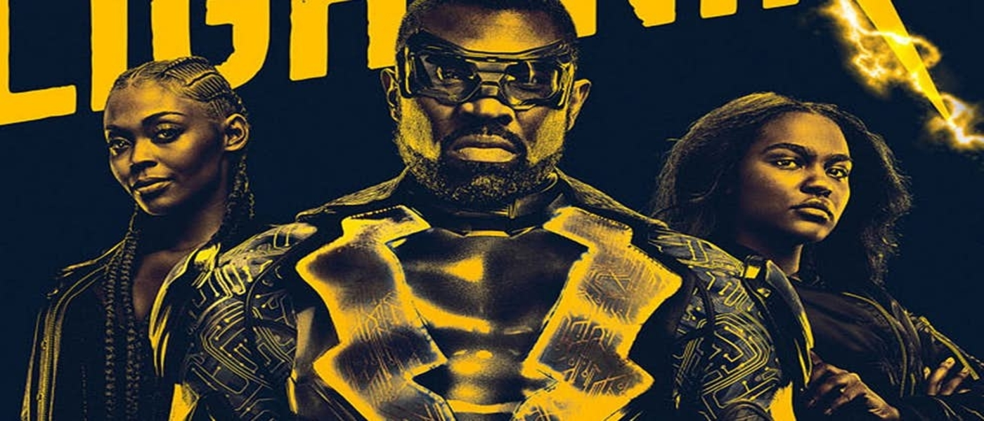 """Get Lit"" with this new Black Lightning Promo Art!"