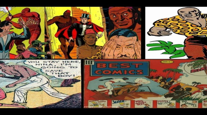 The Black Perspective: 45 years of Blacks In Comics- The Foundation and The Underground
