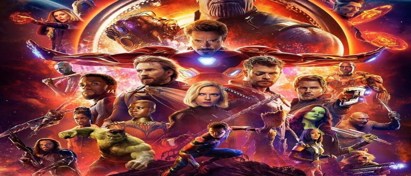 The Avengers Assemble in Infinity War Poster!