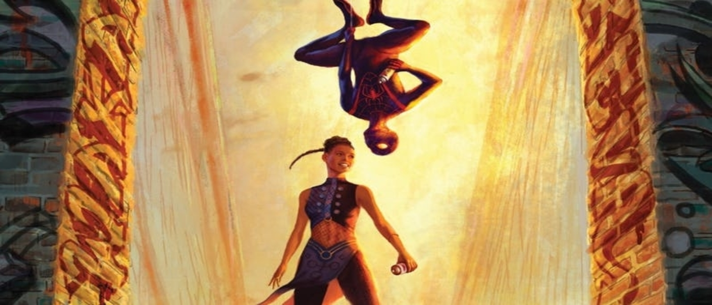 Shuri and Miles MoralesTeam up!