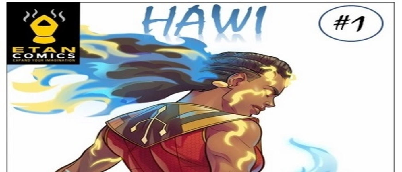 Hawi Ethiopia's First Female Superhero Comic!
